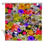 Flower Bed Home Decor Shower Curtain