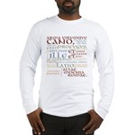 Vergil Ancient Colors Long Sleeve T-Shirt