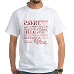 Vergil Red White T-Shirt