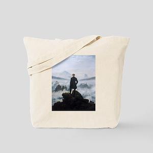 Caspar David Friedrich Wanderer Tote Bag