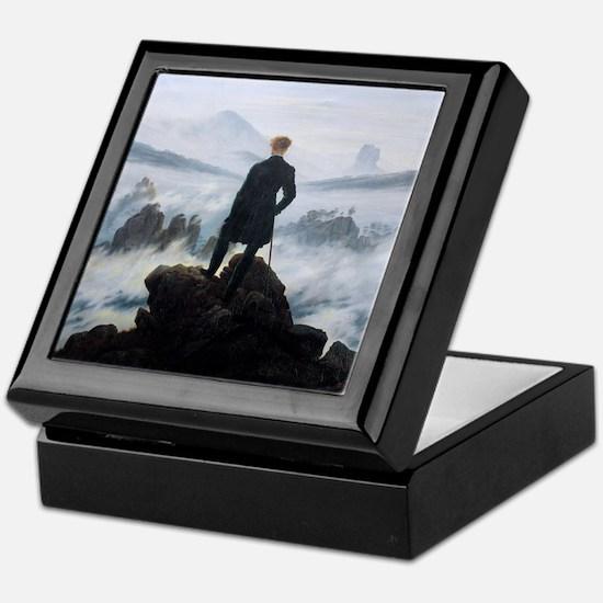 Caspar David Friedrich Wanderer Keepsake Box