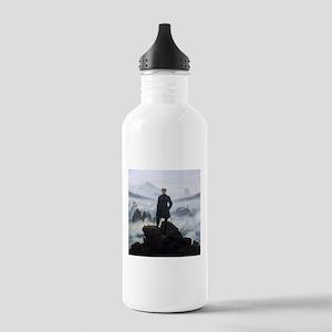 Caspar David Friedrich Wanderer Stainless Water Bo