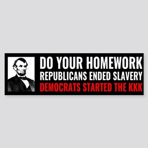 Republicans Ended Slavery Democrats Started the KK