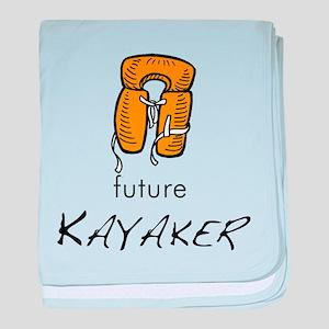 future Kayaker baby blanket