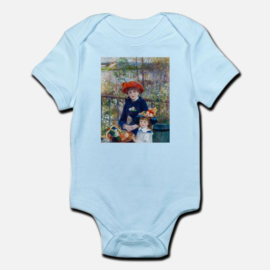 Pierre-Auguste Renoir Two Sisters Infant Bodysuit
