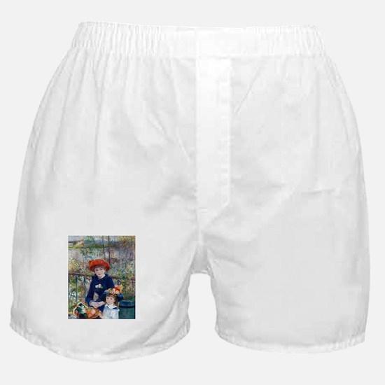 Pierre-Auguste Renoir Two Sisters Boxer Shorts