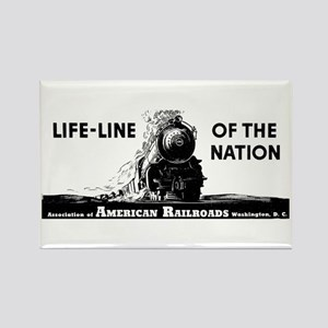 Life-Line Of the Nation 1940 Rectangle Magnet