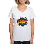 BAMF Women's V-Neck T-Shirt