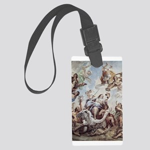The Scales of Justice Large Luggage Tag