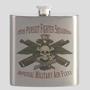 19th Pursuit Squadron Flask