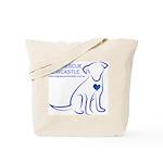 Dog Rescue Newcastle logo Tote Bag