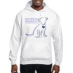 Dog Rescue Newcastle logo Hooded Sweatshirt