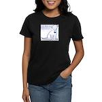 Dog Rescue Newcastle logo Women's Dark T-Shirt