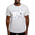 Dog Rescue Newcastle logo Light T-Shirt