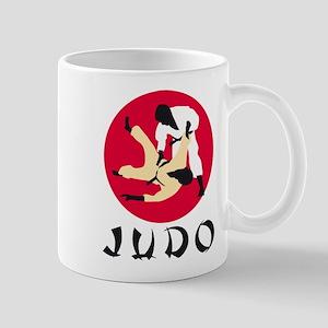 judo fighters Mug