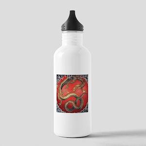 Katsushika Hokusai Dragon Stainless Water Bottle 1