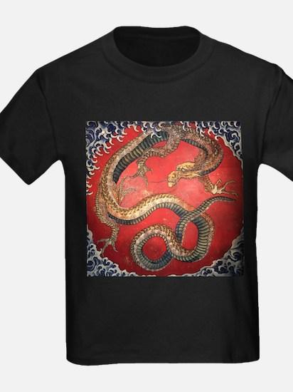 Katsushika Hokusai Dragon T