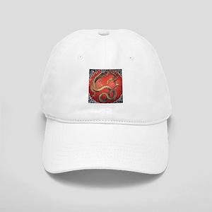 Katsushika Hokusai Dragon Cap