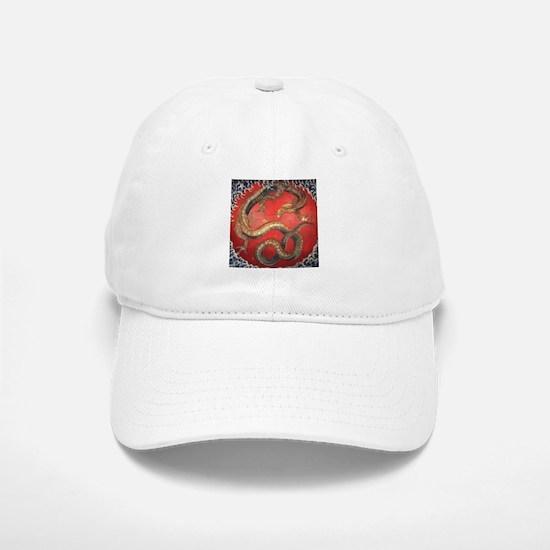 Katsushika Hokusai Dragon Baseball Baseball Cap