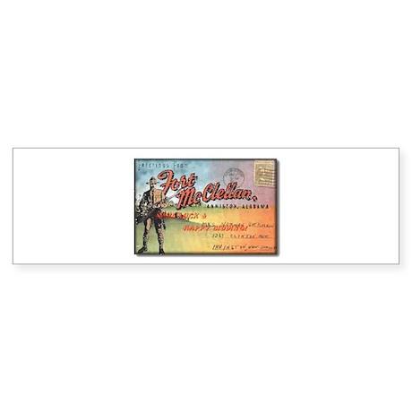 Fort McClellan Sticker (Bumper)