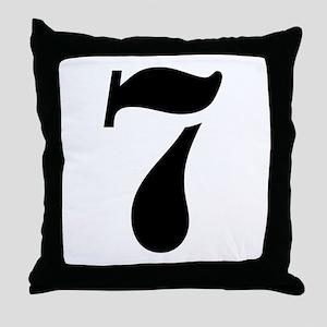 7 Throw Pillow