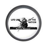 Life-Line Of the Nation 1940 Wall Clock