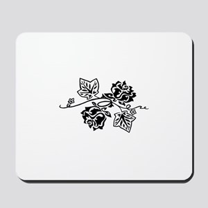 Rose and Ivy Twist Mousepad