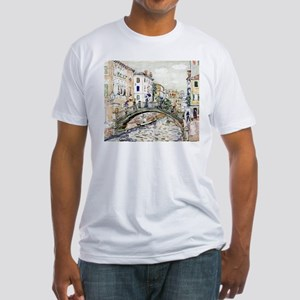 Maurice Prendergast Little Bridge Fitted T-Shirt