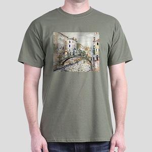 Maurice Prendergast Little Bridge Dark T-Shirt