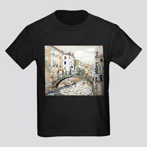 Maurice Prendergast Little Bridge Kids Dark T-Shir