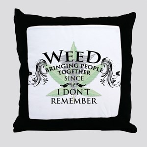 Weed 1 Throw Pillow
