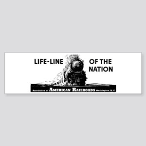 Life-Line Of the Nation 1940 Bumper Sticker