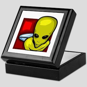 Alien Keepsake Box