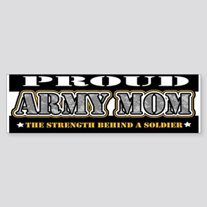 Proud Army Mom Sticker (Bumper)