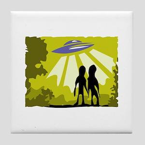 Alien Tile Coaster