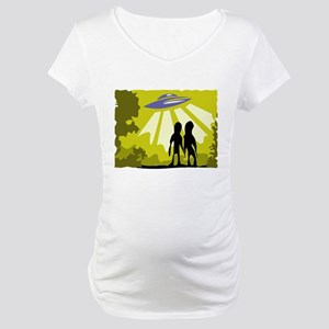 Alien Maternity T-Shirt