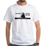 Life-Line Of the Nation 1940 White T-Shirt