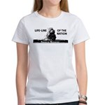 Life-Line Of the Nation 1940 Women's T-Shirt