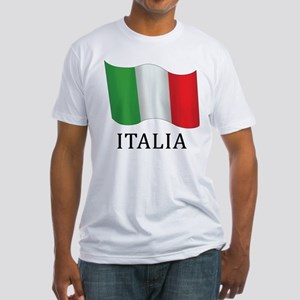 Italia Flag Fitted T-Shirt