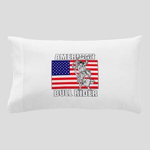 American Bull Rider Pillow Case