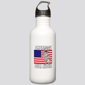 American Bull Rider Stainless Water Bottle 1.0L