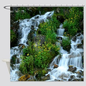 Mountain spring Shower Curtain