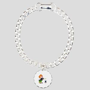 Clown Charm Bracelet, One Charm