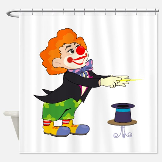 Clown Shower Curtain