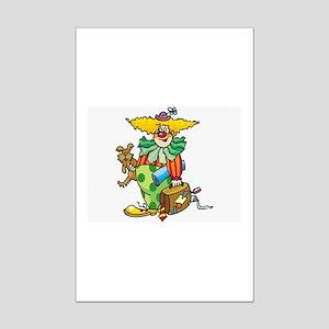 Clown Mini Poster Print