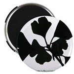 Ginko Tree Leaves Magnet