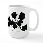 Ginko Tree Leaves Large Mug