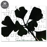 Ginko Tree Leaves Puzzle