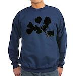 Ginko Tree Leaves Sweatshirt (dark)
