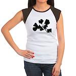 Ginko Tree Leaves Women's Cap Sleeve T-Shirt